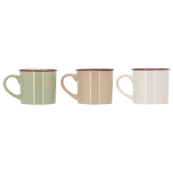3入小咖啡杯組(三色) 200ML ES70-3 NITORI宜得利家居 3