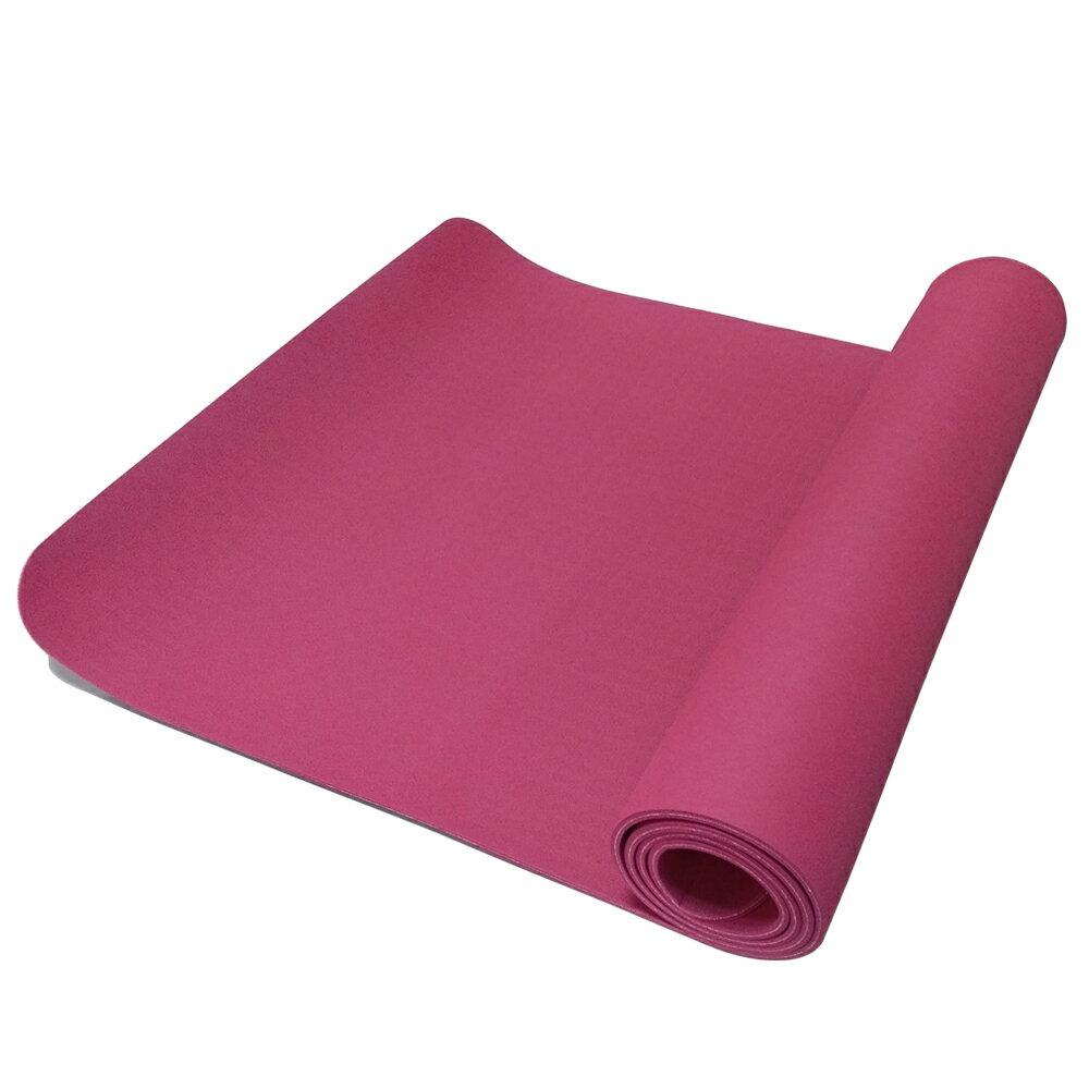 52s 環保TPE雙色止滑瑜珈墊 HSC-TPE5(附贈瑜珈背袋) 2