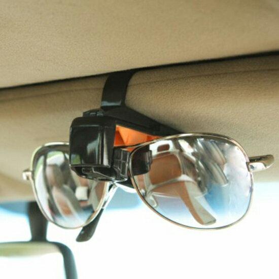 ♚MYCOLOR♚車用遮陽板眼鏡夾眼鏡架車載汽車全托型汽車用品置物收納通用置物【L62】