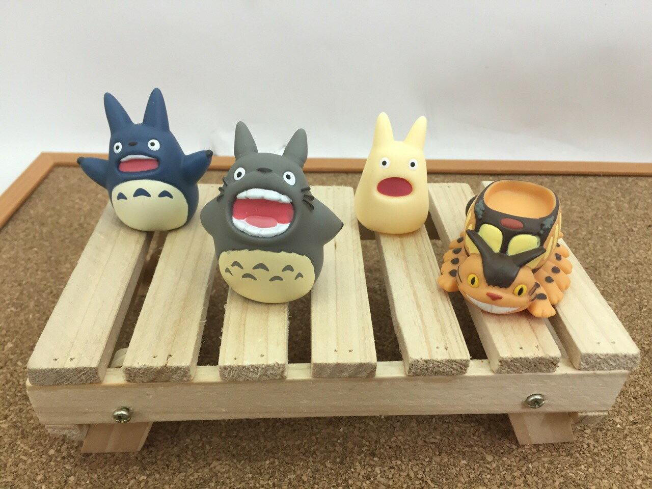 【真愛日本】15061300016指套娃娃-白龍貓吼叫 龍貓 TOTORO 豆豆龍 收藏 擺飾 玩具 公仔 正品 限量 2