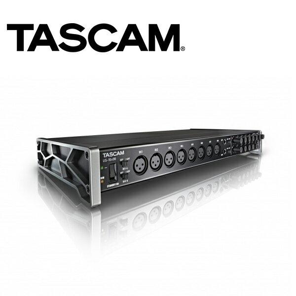 ◎相機專家◎TASCAM達斯冠US-16x08USB錄音介面16x08幻像電源收音動態錄音公司貨