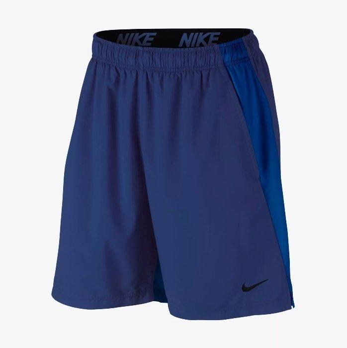 NIKE FLEX 8 男裝 短褲 慢跑 訓練 透氣 舒適 藍 【運動世界】 833272-455