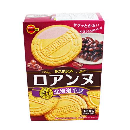 【敵富朗超巿】Bourbon北日本 紅豆口味法蘭酥 85.2g 有效日期:2017.10.01