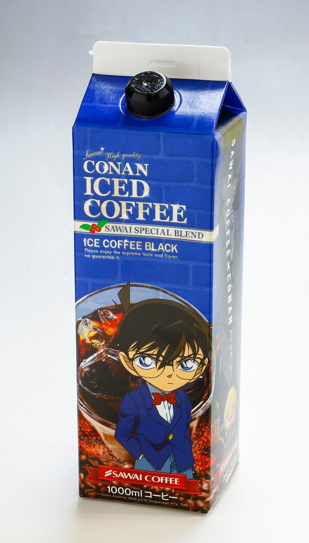 澤井咖啡 柯南系列 加糖紅茶.無糖紅茶.無糖咖啡 3