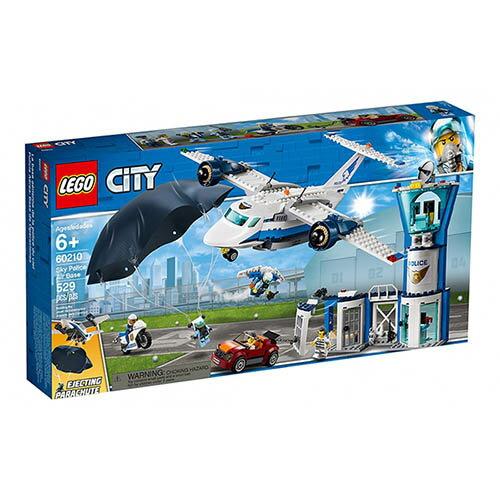樂高LEGO 60210  City-Police 城市警察系列 - 航警航空基地 - 限時優惠好康折扣