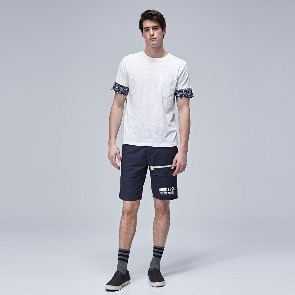❤短褲$990❤Lee  休閒短褲 902 多口袋文字印刷 男 深藍 6