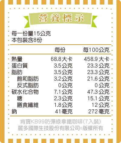 【肯寶KB99】防彈綠拿鐵咖啡 WPI-WPC升級新配方