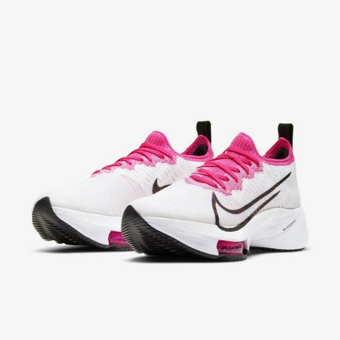 【日本海外代購】NIKE AIR ZOOM TEMPO NEXT% 慢跑鞋 白色 桃紅色 輕量 慢跑 女鞋CI9924-102