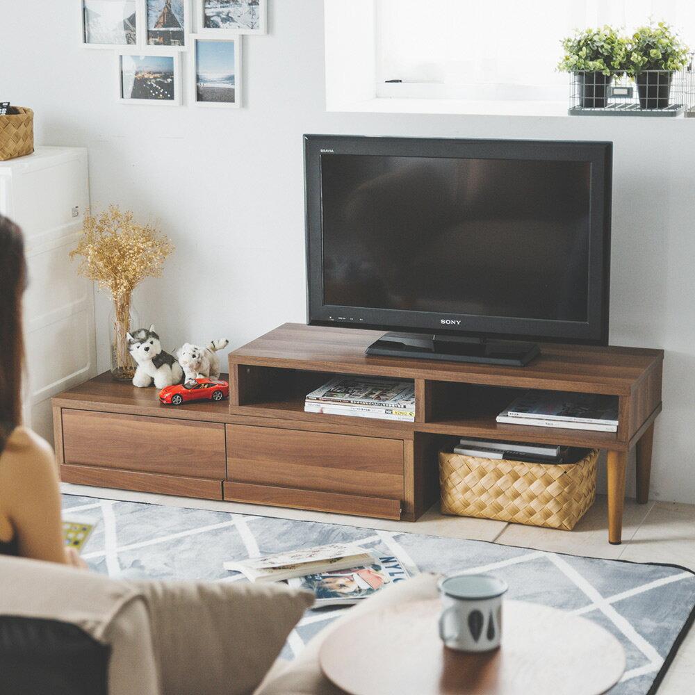 空間創意伸縮式多功能電視櫃