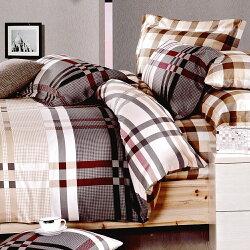 輕鬆小品-純棉 雙人四件式 被套床包組 / 哇哇購
