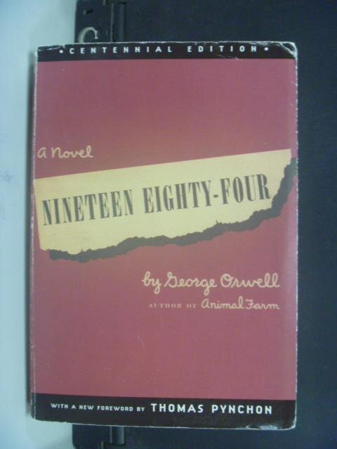 ~書寶 書T8/原文小說_KPB~1984_Nineteen Eighty~Four_Or
