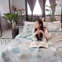 親密花語 床包/被套/兩用被/枕套 單品賣場  100%復古純棉 台灣製