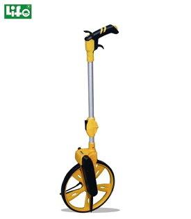 聯盟文具:徠福NO.4127專業測距輪12吋(附停車休息裝置)單輪二段式摺疊