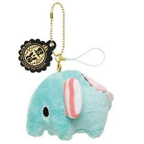=優生活=日本正版Sentimental Circus憂傷馬戲團 薄荷象 小象吊飾 娃娃