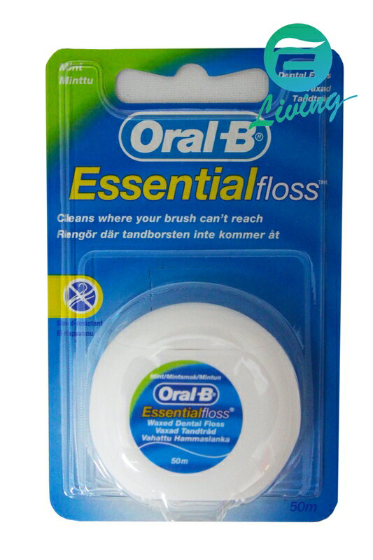 ORAL-B ESSENTIAL 牙線 50M #05029
