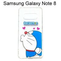 小叮噹週邊商品推薦哆啦A夢空壓氣墊軟殼 [嘟嘴] Samsung Galaxy Note 8 N950FD (6.3吋) 小叮噹【正版授權】
