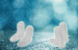 透明通用型雨鞋套 單入