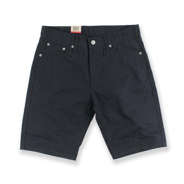 美國百分百【全新真品】Levis 505 短褲 五分褲 牛仔褲 合身 黑色 30腰 F548
