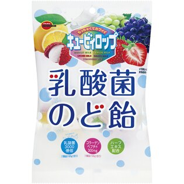 糖果王:北日本乳酸菌水果喉糖100g