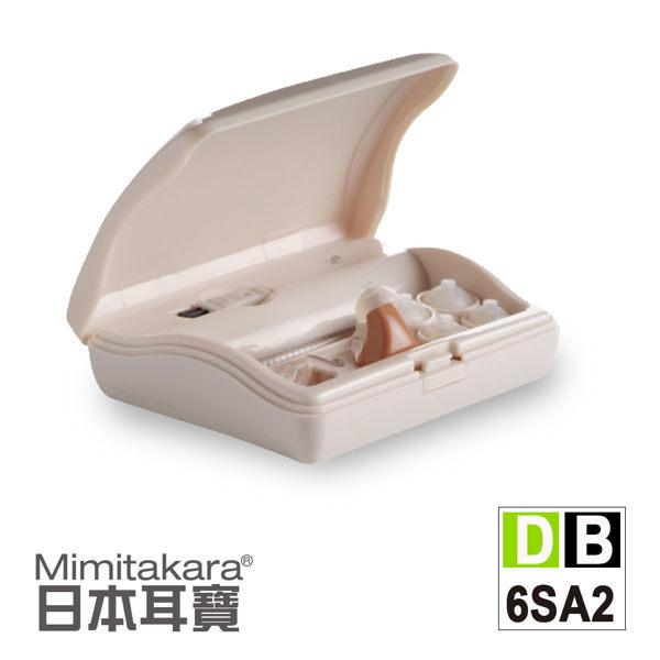 【日本耳寶】單耳充電式助聽器(耳內型6SA2) 元健大和助聽器(未滅菌),贈品:環保小麥三件式餐具組x1