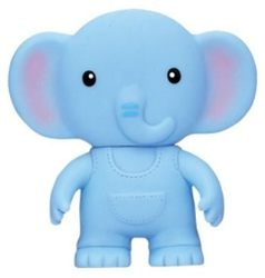 樂雅 軟膠玩具 - 大象『121婦嬰用品館』