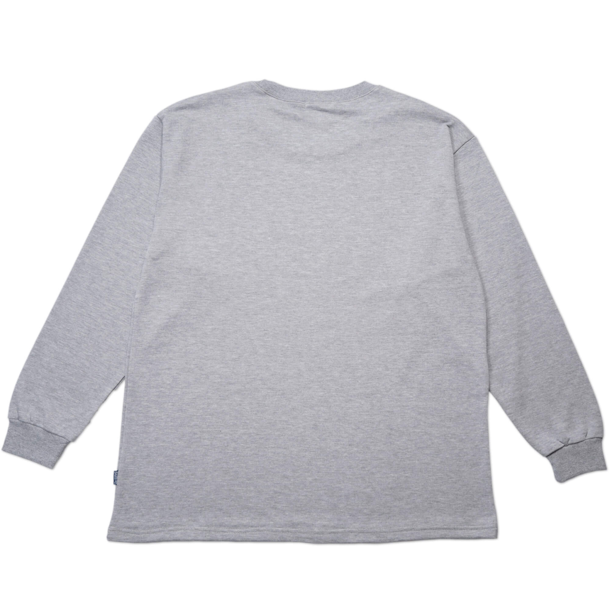 加大尺碼台灣製長袖T恤 西方龍圖及英文字彈性圓領T恤 T-shirt 長袖上衣 休閒長TEE 灰色T恤 黑色T恤 MADE IN TAIWAN BIG_AND_TALL (310-0861-21)黑色、(310-0861-22)灰色 4L 6L(胸圍52~57英吋) [實體店面保障] sun-e 4