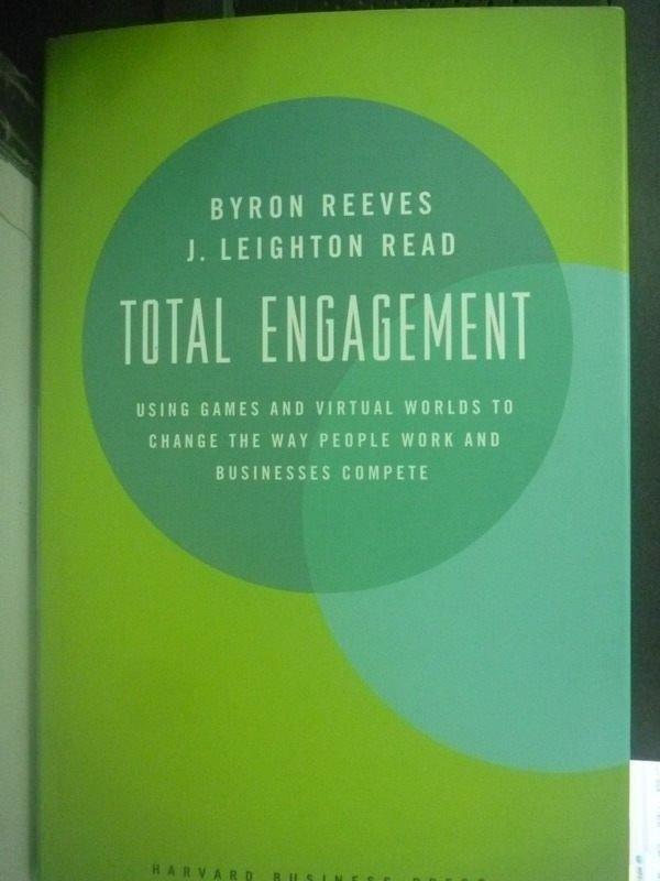 【書寶二手書T2/原文小說_ZDU】Total Engagement: Using