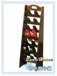 ╭☆雪之屋居家生活館☆╯R567-01/P654-01 AR-030豐禾實木七層鞋叉/鞋櫃/拖鞋架/鞋叉/DIY自組
