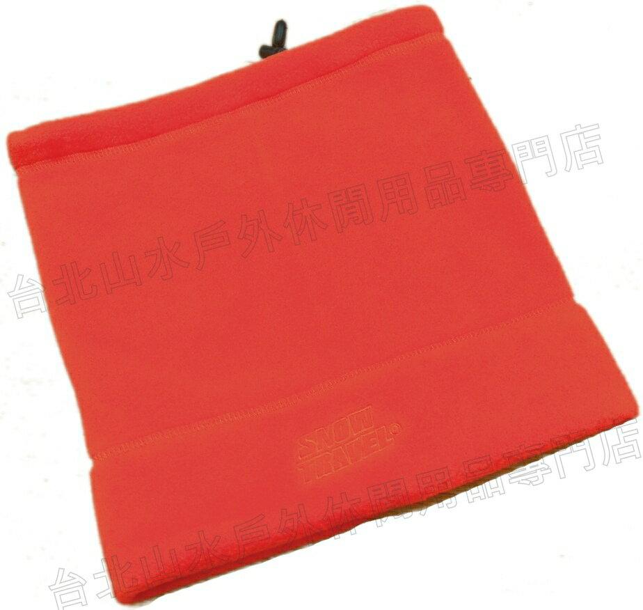 雪之旅 保暖脖圍/圍巾/毛帽/登山/滑雪/出國/寒流保暖 AR-16 紅色