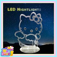 元宵節推薦LED北歐3D 造型夜燈 hello kitty 凱蒂貓