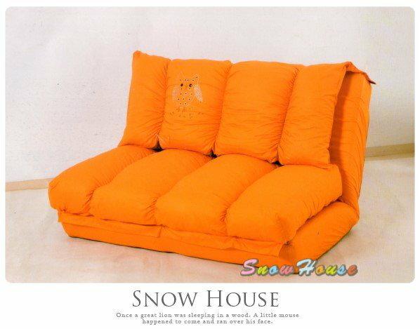 ╭☆雪之屋居家生活館☆╯@特價優惠@AA497-02純棉晶鑽伊利兒沙發床造型沙發雙人沙發三人沙發坐臥床