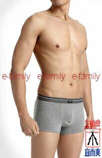 3GUN男運動彈性棉四角褲4482