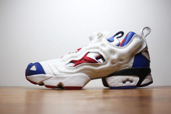 Reebok Pump Fury OG 充氣休閒運動鞋 白藍紅 情侶款