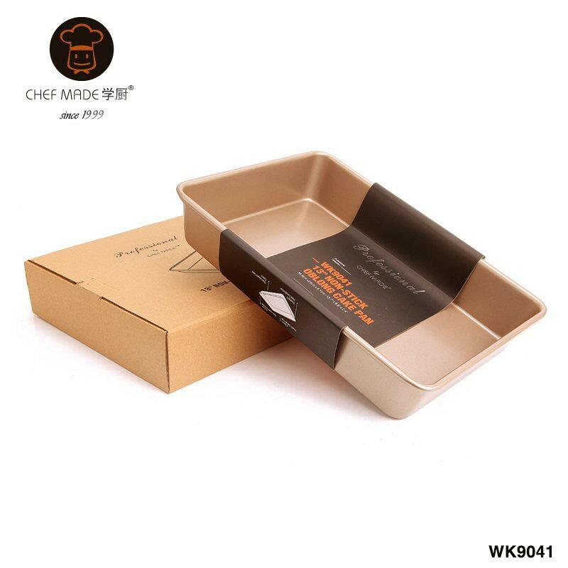 塔克網購 【學廚WK9041-13吋深底長方形烤盤】不粘加深長方形蛋糕烤盤