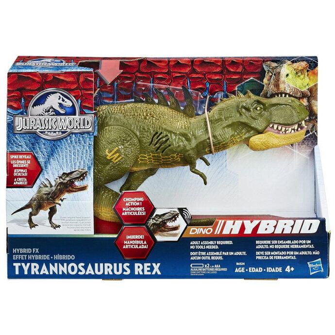【孩之寶流行玩具】侏儸紀世界電影-混種暴龍聲效玩具 B6524
