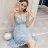 《全店8折!滿777再折$100》韓系唯美蕾絲沁甜細肩帶洋裝 (S-XL,2色) - 梅西蒂絲(現貨+預購) 0
