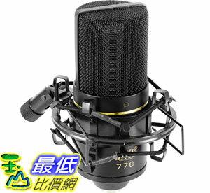 [106美國直購]MXL專業電容式麥克風含避震架收納箱MXL770CardioidCondenserMicrophone
