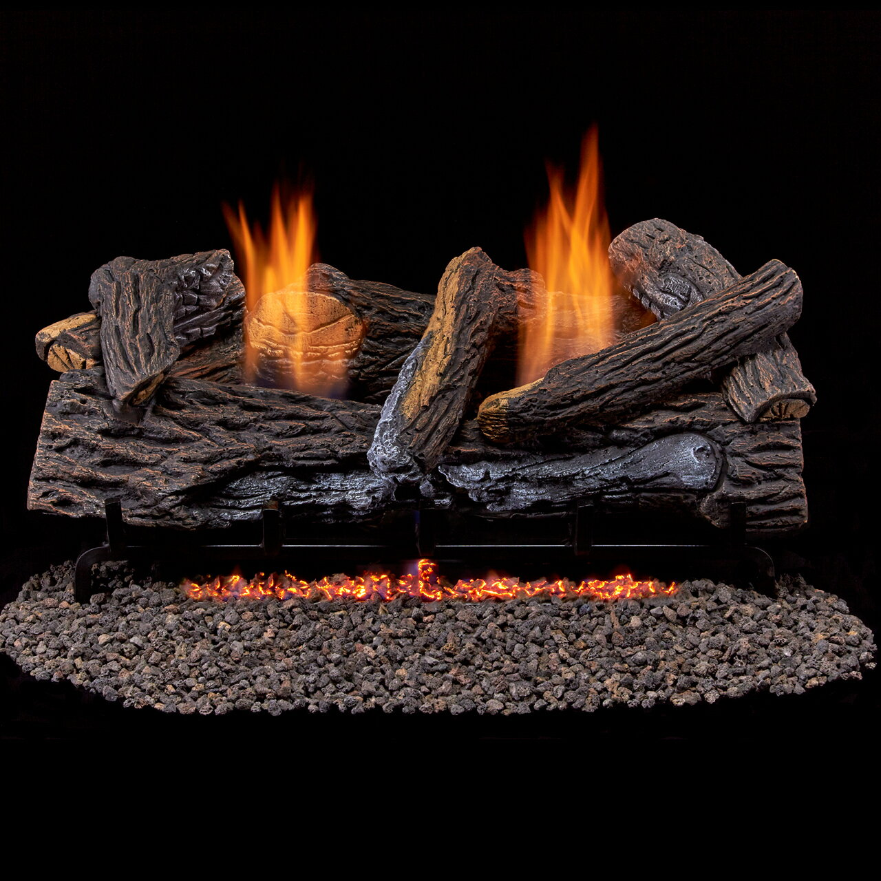 Factory Buys Direct Duluth Forge Ventless Propane Gas Log Set