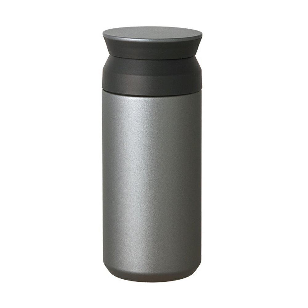 KINTO | TRAVEL TUMBLER 隨行保溫瓶 350ml - 銀色