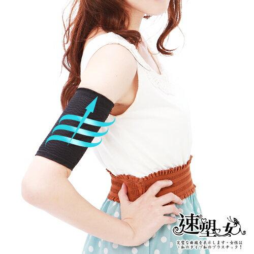 【速塑女人】300D立體按摩系-超機能手臂套