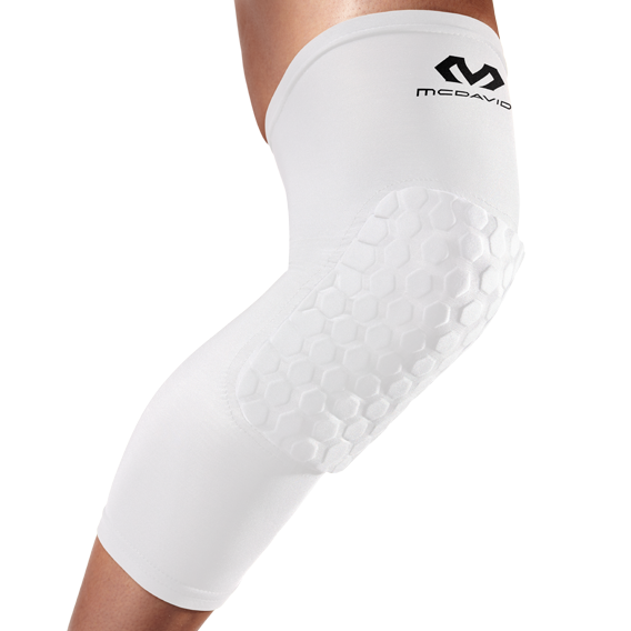McDavid [6446] 蜂巢式長護膝 - 白 (一組2件)