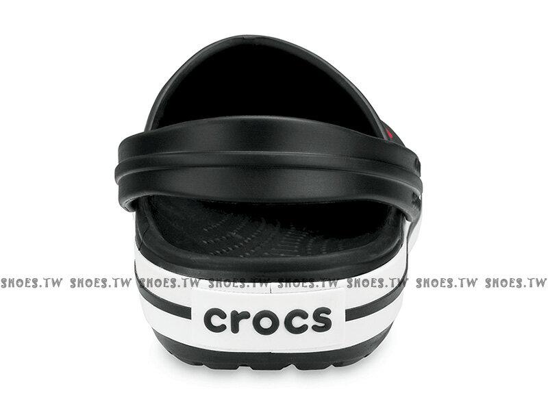 Shoestw【11016-001】CROCS 卡駱馳 鱷魚 輕便鞋 拖鞋 涼鞋 黑白 中性款 男女尺寸都有 2