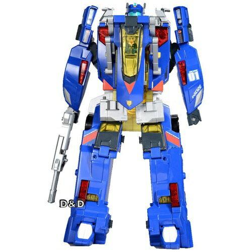 《 TOMICA 》緊急救援隊 變形機器人 -  特警隊機器人