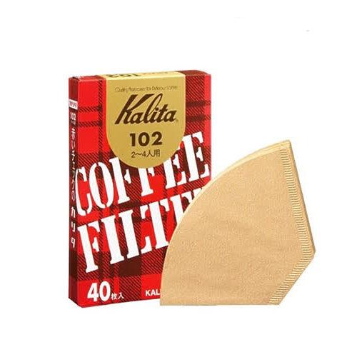 金時代書香咖啡 Kalita 103無漂白濾紙 4~7人份 40枚入