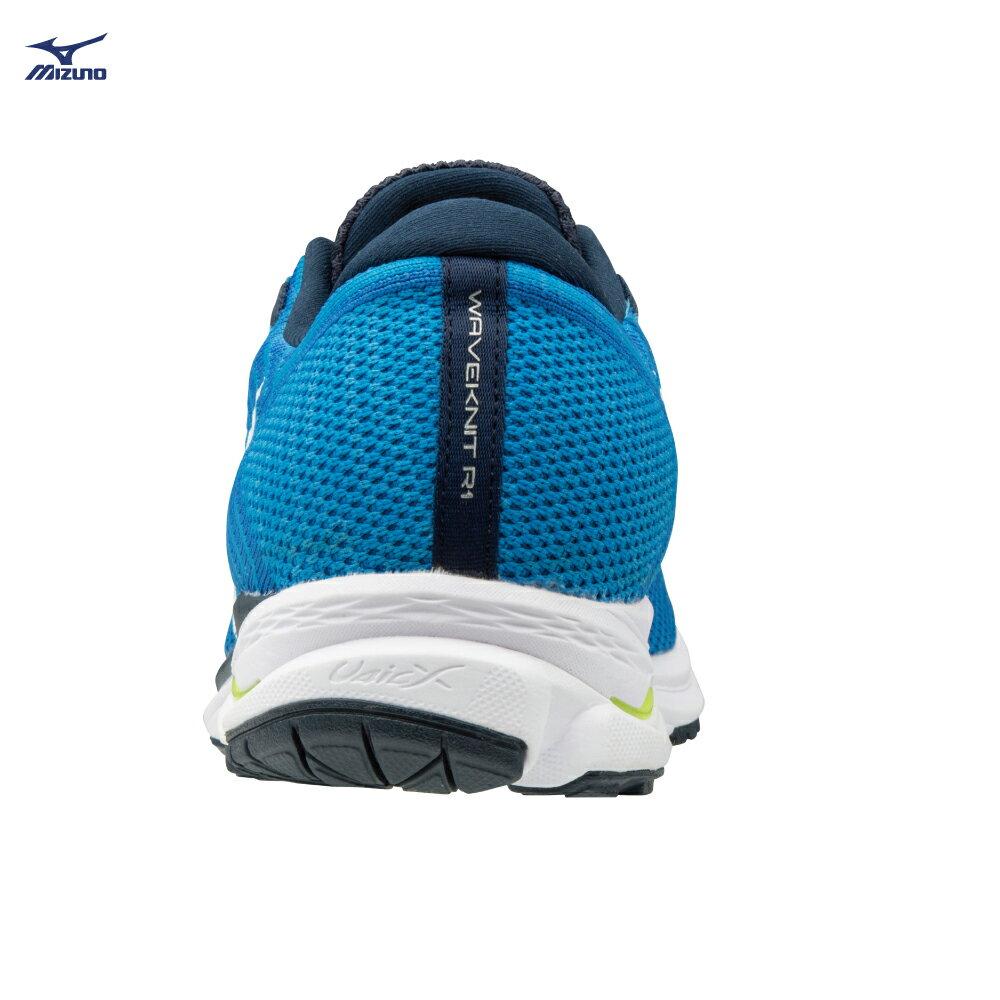 J1GC182401(藍X白)WAVEKNIT技術編織 WAVEKNIT R1 男慢跑鞋 S【美津濃MIZUNO】 2