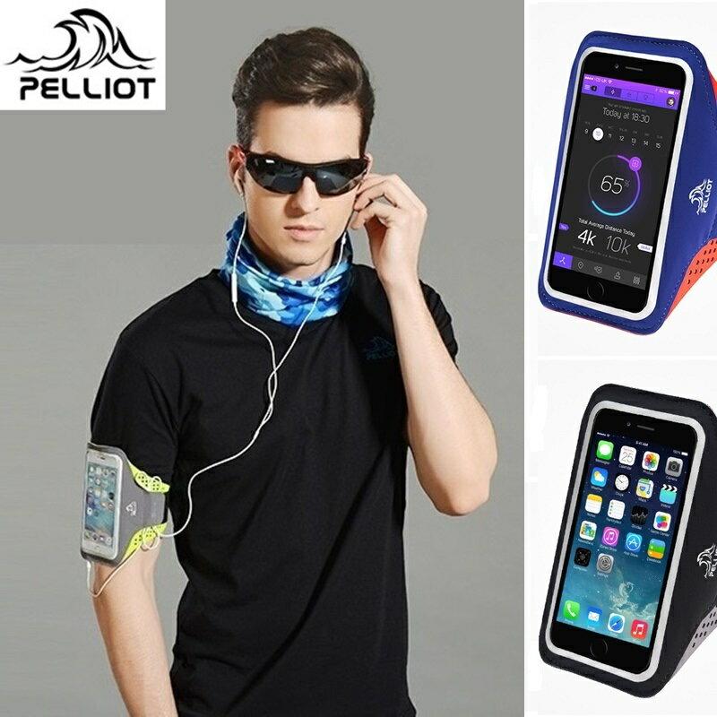 又敗家@法國品牌Pelliot可觸控手機防潑水運動手機袋運動手臂袋6602609適LCD液晶螢幕5.5吋以下,例:iphone 4 5 6 7 i7 i6 i5 i4 ipod HTC Desire小..