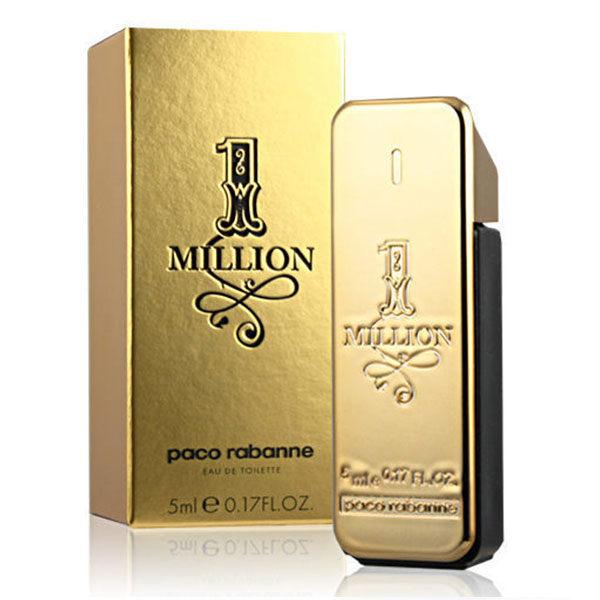 PacoRabanne百萬男性淡香水5ml小香《Belle倍莉小舖》