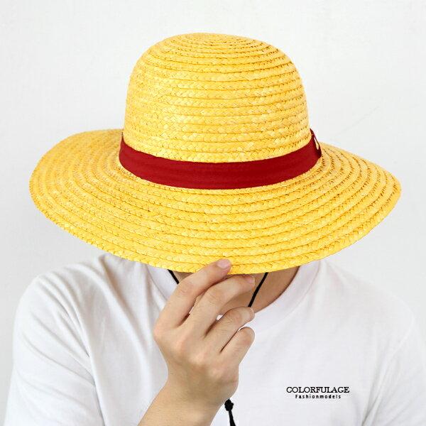 藤編帽海賊王魯夫草帽航海王系列【NHB5】