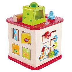德國 Hape愛傑卡 動物友誼幼兒學習盒