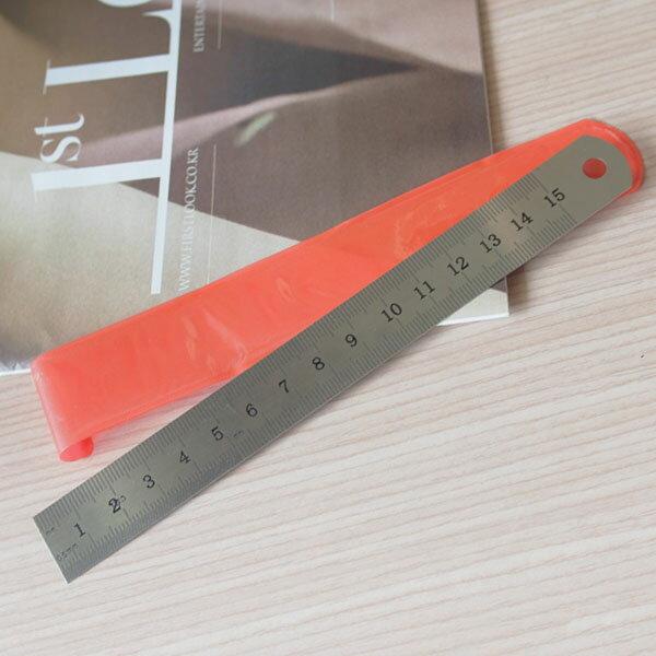 【aifelife】15cm不鏽鋼直尺不銹鋼尺雙面刻度尺白鐵直尺白鐵尺鋼尺製版測量文具用品辦公文具美術用品150mm